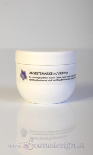 Økologisk Luksus Ansigtsmaske - Rosen