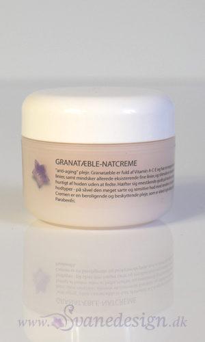 Økologisk Luksus Pomegranate-Natcreme