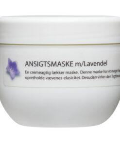 Økologisk Luksus Ansigtsmaske - Lavendel